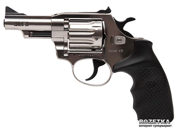 "Револьвер Alfa мод 431 3"" (нікель, пластик) 144943/13 (14310057) - зображення 1"