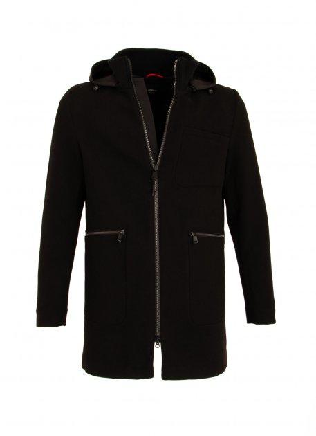 Пальто s.Oliver М0103866 цвет черный M - изображение 1