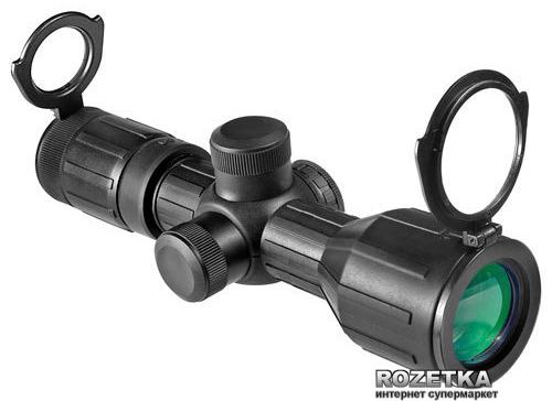 Оптичний приціл Barska Contour 3-9x40 (4A Mil Plex IR) Rubber Armored (921041) - зображення 1