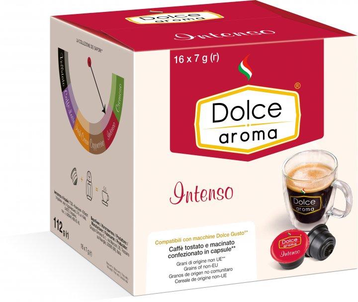 Капсула Dolce Aroma Intenso для системы Dolce Gusto 7 г х 16 шт (4820093484923_4820093484930) - изображение 1