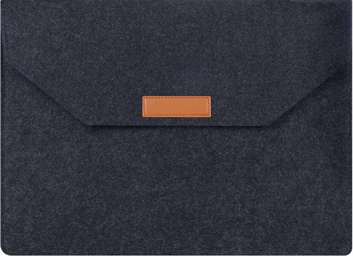 """Чехол для ноутбука AIRON Premium 15.6"""" Black (4822356710623) - изображение 1"""