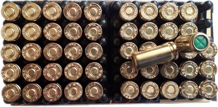 Холості патрони холостий Патрон пістолетний Zuber 23241 9 mm 50 шт (3000612) - зображення 1