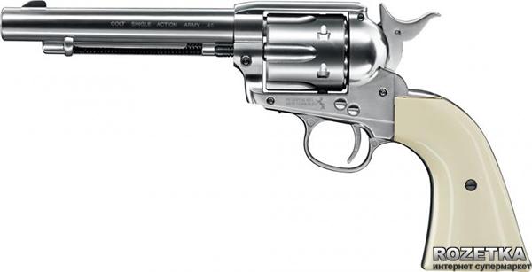 Пневматический пистолет Umarex Colt Single Action Army 45 White (5.8309) - изображение 1