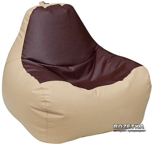 Крісло-Груша Примтекс Плюс Simba H-2201/H-002 S Beige-Brown - зображення 1