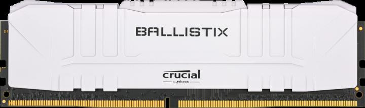 Оперативна пам'ять Crucial DDR4-3200 16384 MB PC4-25600 Ballistix White (BL16G32C16U4W) - зображення 1