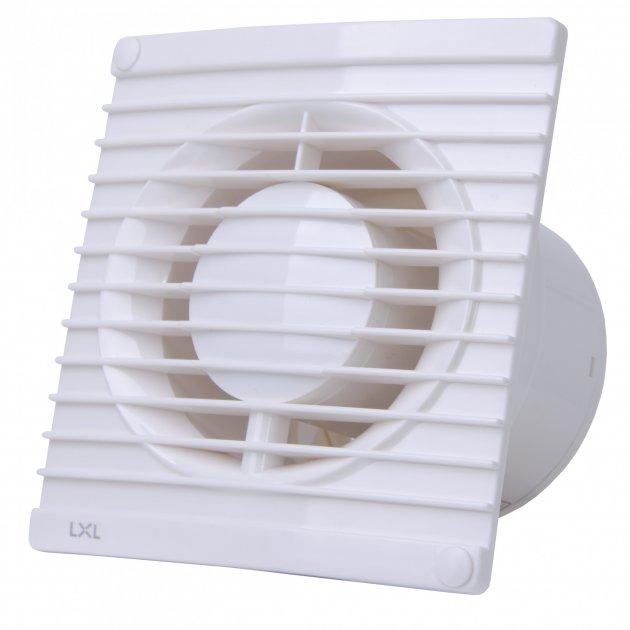 Вентилятор вытяжной настенный LXL ø100 мм 114 м3/ч размер 150х150 мм (APB10-1/238) - изображение 1
