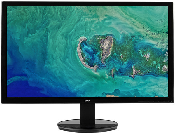 """Монітор 19.5"""" Acer K202HQLAb (UM.IX3EE.A01/UM.IX3EE.A02) - зображення 1"""