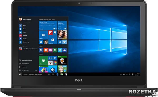 Ноутбук Dell Inspiron 7559 (I757810NDW-46) Black - зображення 1
