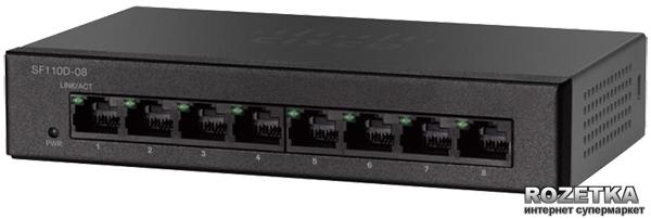 Коммутатор Cisco SB SF110D-08-EU - изображение 1