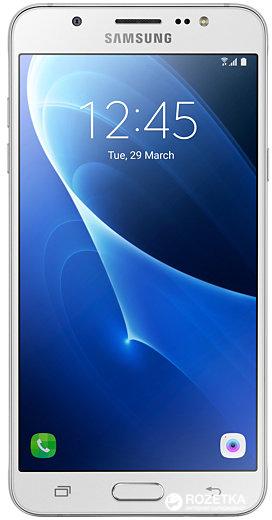Мобильный телефон Samsung Galaxy J5 (2016) J510H/DS White - изображение 1
