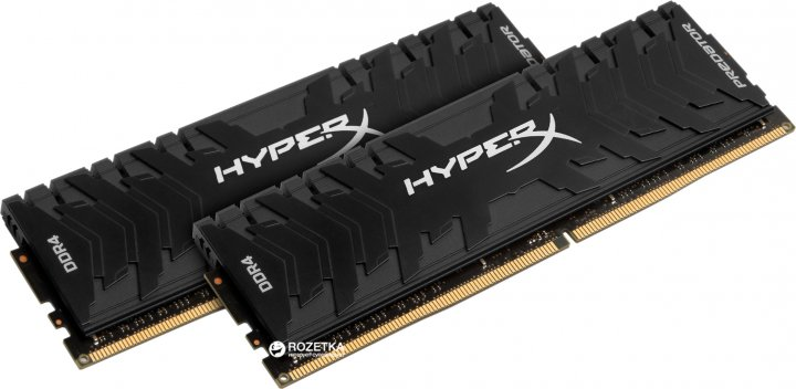 Оперативна пам'ять HyperX DDR4-3000 16384MB PC4-24000 (Kit of 2x8192) Predator Black (HX430C15PB3K2/16) - зображення 1