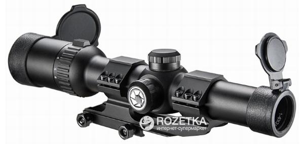Оптический прицел Barska AR6 Tactical 1-6x24 (IR Mil-Dot R/G) (922719) - изображение 1