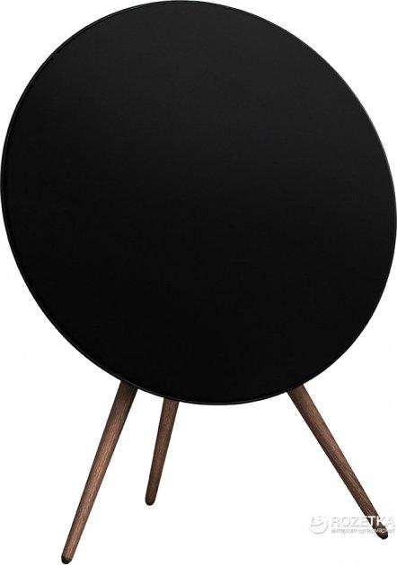 Акустична система Bang & Olufsen BeoPlay A9 Black, incl. front cover, walnut legs (2890-18) - зображення 1