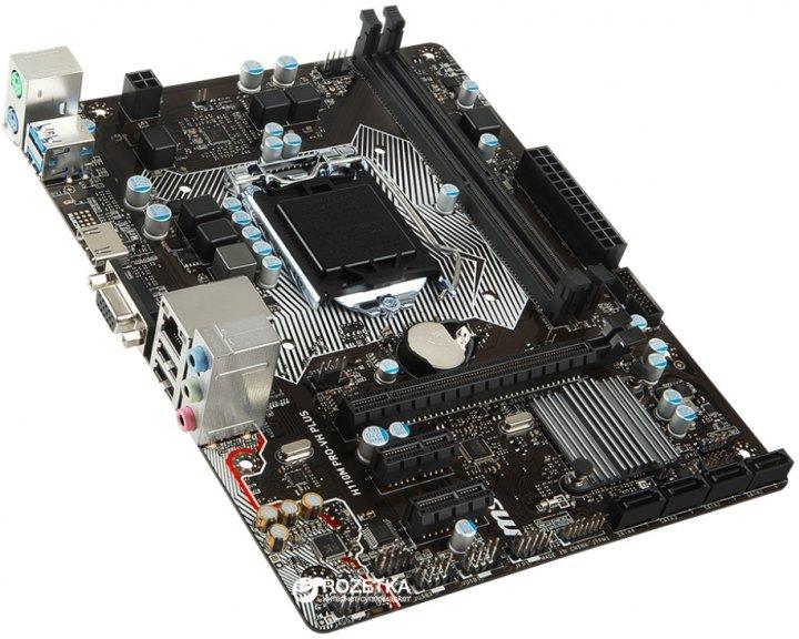 Материнська плата MSI H110M PRO-VH PLUS (s1151, Intel H110, PCI-Ex16) - зображення 1