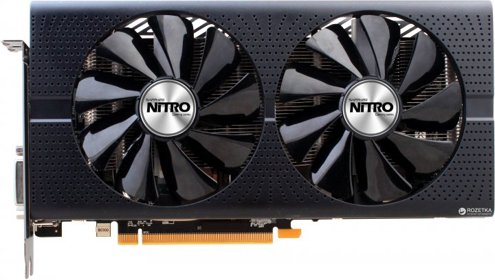 Sapphire PCI-Ex Radeon Nitro + RX 470 8G GDDR5 (256bit) (1121/2000) (2 x HDMI, 2 x DisplayPort, DVI) (11256-02-20G) - изображение 1