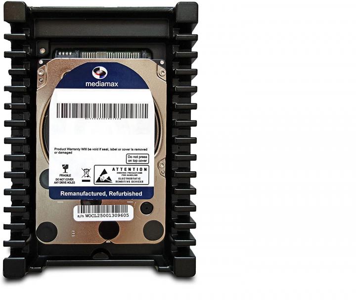"Накопичувач HDD 3.5"" SATA 750GB Mediamax 10000rpm 64MB (WL750GSA64RA100B) Refurbished - зображення 1"