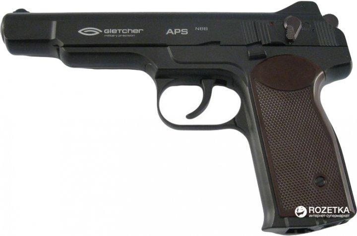Пневматичний пістолет Gletcher APS NBB (41154) - зображення 1