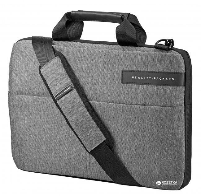 Сумка для ноутбука HP Signature 14.0'' Grey/Black (L6V67AA) - изображение 1