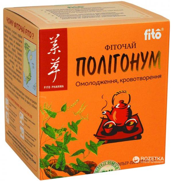 Чай Fito ПОЛІГОНУМ 20 шт. х 1,5 г (8934711008173_27249) - зображення 1