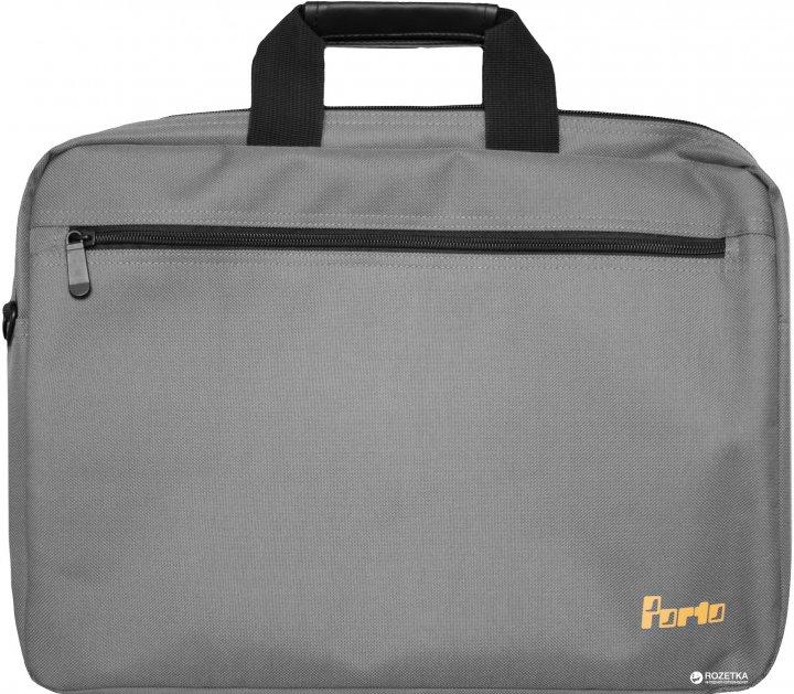 """Сумка для ноутбука Porto 15.6"""" Grey (PC110GY) - зображення 1"""