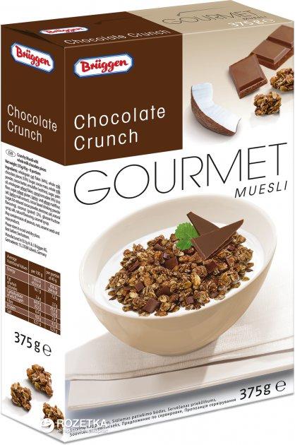 Мюсли Bruggen Knusper-Schoko с шоколадом 375 г (4008713700831) - изображение 1