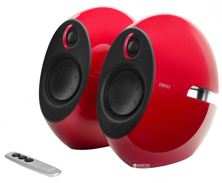 Акустична система Edifier E25 Luna EclipseHD Bluetooth Red - зображення 1
