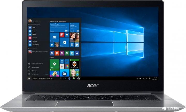 Ноутбук Acer Swift 3 SF314-52-300K (NX.GNUEU.015) Sparkly Silver - изображение 1