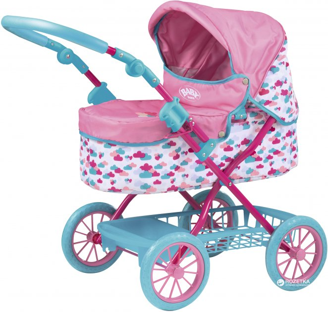 Коляска для куклы Zapf Baby Born Делюкс (1423494) - изображение 1