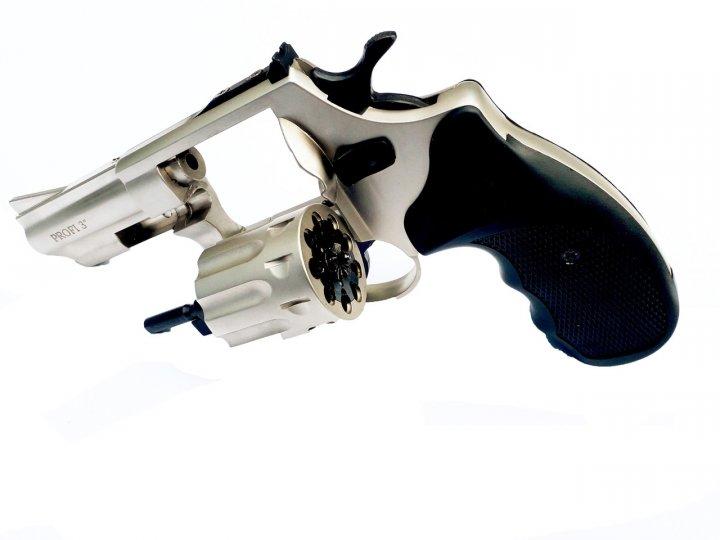 """Револьвер флобера ZBROIA PROFI-3"""" (сатин / пластик) - изображение 1"""
