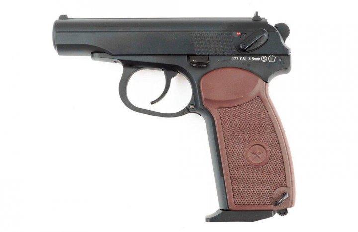 Пневматичний пістолет KWC PM blowback (KMB44AHN) - изображение 1