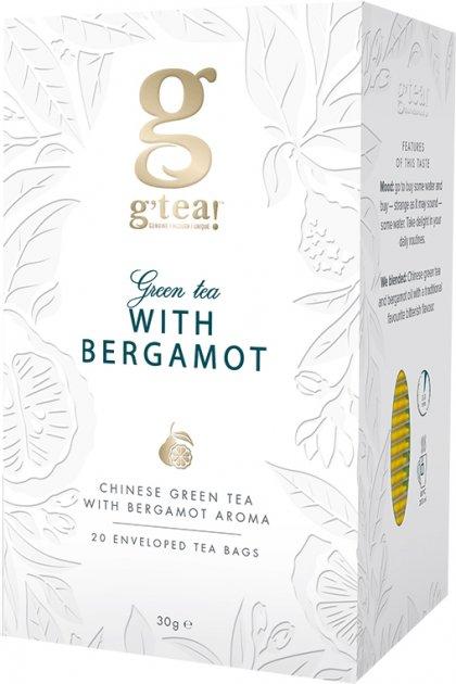 Зеленый чай Grace! Прайм тайм с ароматом бергамота 1.5 г х 25 шт (5060207690416) - изображение 1