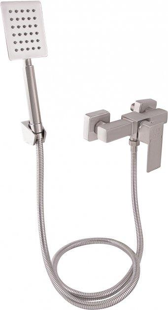 Змішувач для душу LIDZ (NKS)-10 30 010 00 з душовим гарнітуром - зображення 1