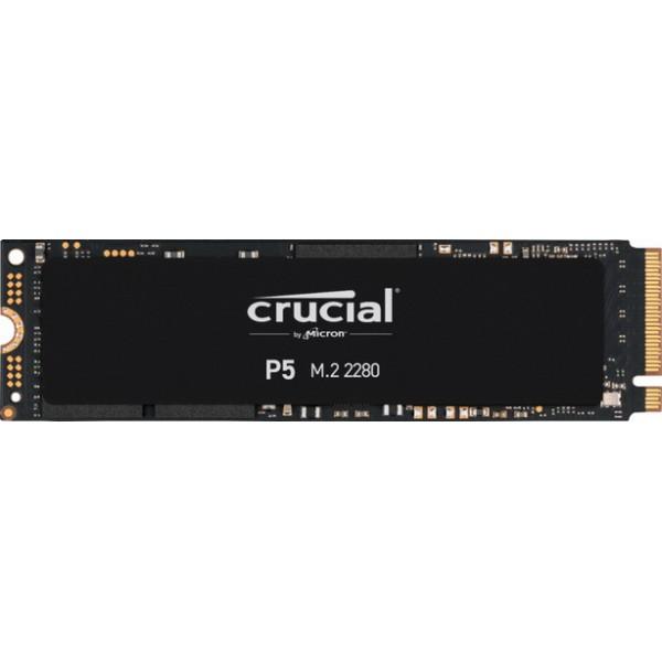 SSD 2TB Crucial P5 M. 2 2280 NVMe PCIe 3.0 x4 TLC 3D NAND (CT2000P5SSD8) - зображення 1