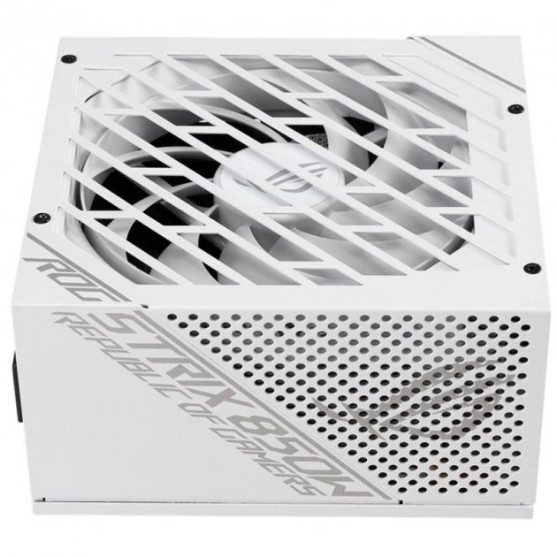 Блок питания Asus ROG Strix 850W Gold White Edition (ROG-STRIX-850G-WHITE) - изображение 1