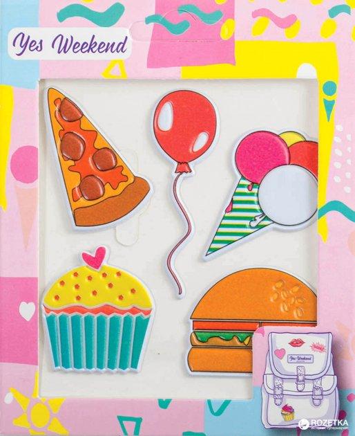 Набір наклейок Yes Weekend Patch stiker Бургер тістечко (554312) - зображення 1