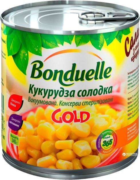 Кукуруза сладкая Bonduelle вакуумированная Gold 425 мл (3083680025881) - изображение 1