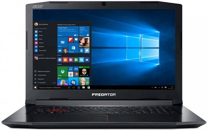 Ноутбук Acer Predator Helios 300 PH317-51 (NH.Q2MEU.008) Shale Black - изображение 1