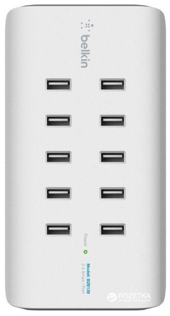 Станция для зарядки Belkin RockStar 10-Port USB Charging Station (B2B139vf) - изображение 1