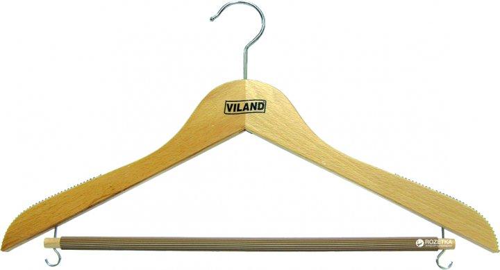 Вешалка для одежды Viland 44х1.2 см (FS73001) - изображение 1