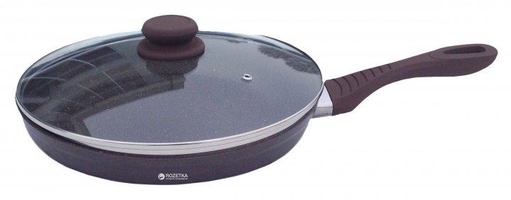 Сковорода Lessner Chocolate Line с крышкой 24 см (88364-24) - изображение 1