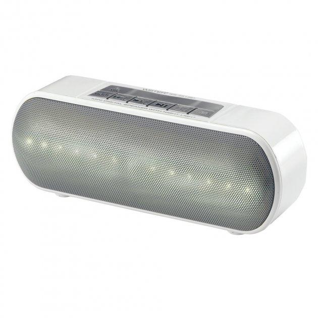Портативная колонка Bluetooth WS-2513BT White Wster T-SH28959 - зображення 1