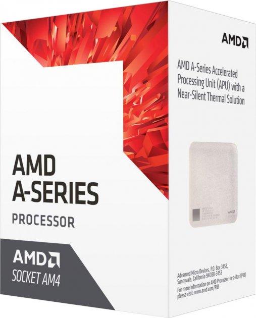 Процессор AMD Bristol Ridge A8-9600 3.1GHz/2MB (AD9600AGABBOX) AM4 BOX - изображение 1