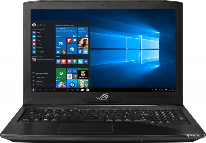 Ноутбук Asus ROG Strix GL503VD (GL503VD-FY077T) Black - изображение 1