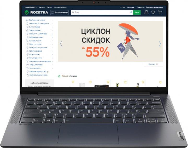 Ноутбук Lenovo IdeaPad 5 14ITL05 (82FE00FJRA) Graphite Grey - изображение 1