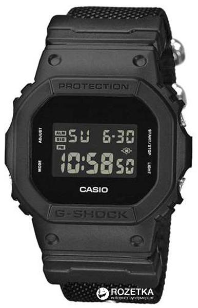 Чоловічий годинник CASIO DW-5600BBN-1ER - зображення 1