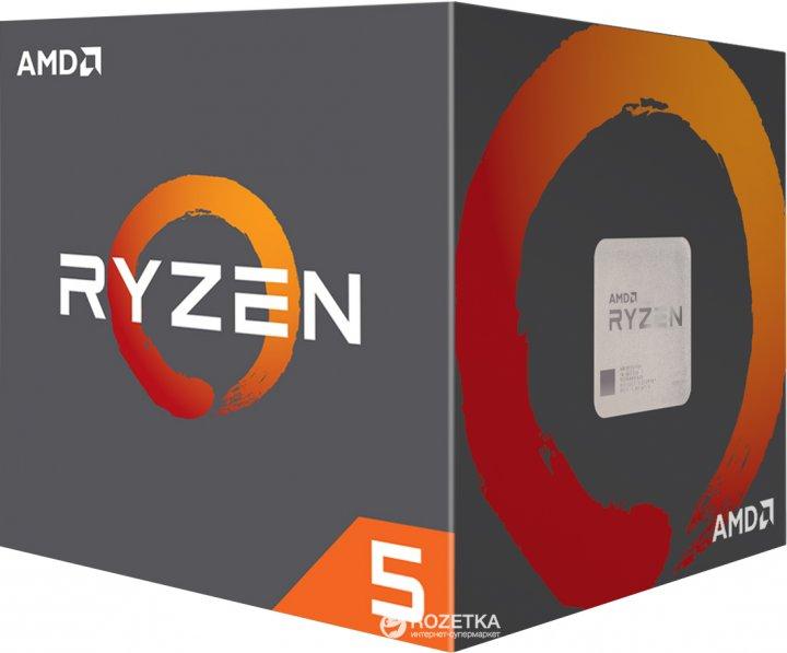 Процессор AMD Ryzen 5 2600X 3.6GHz/16MB (YD260XBCAFBOX) sAM4 BOX - изображение 1