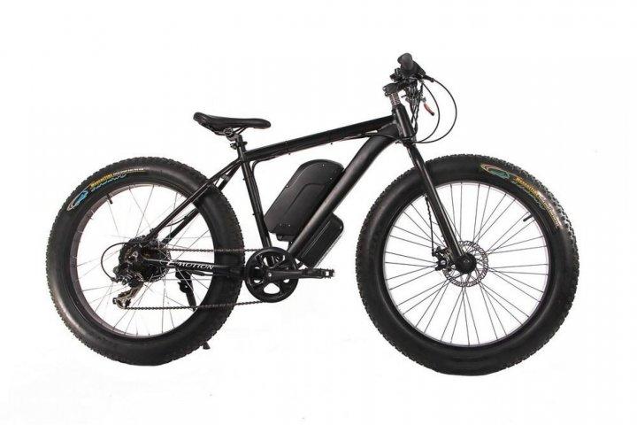 "Електровелосипед E-motion Fatbike 48V 1000 Вт 26"" чорний (EFB-BLACK) - зображення 1"
