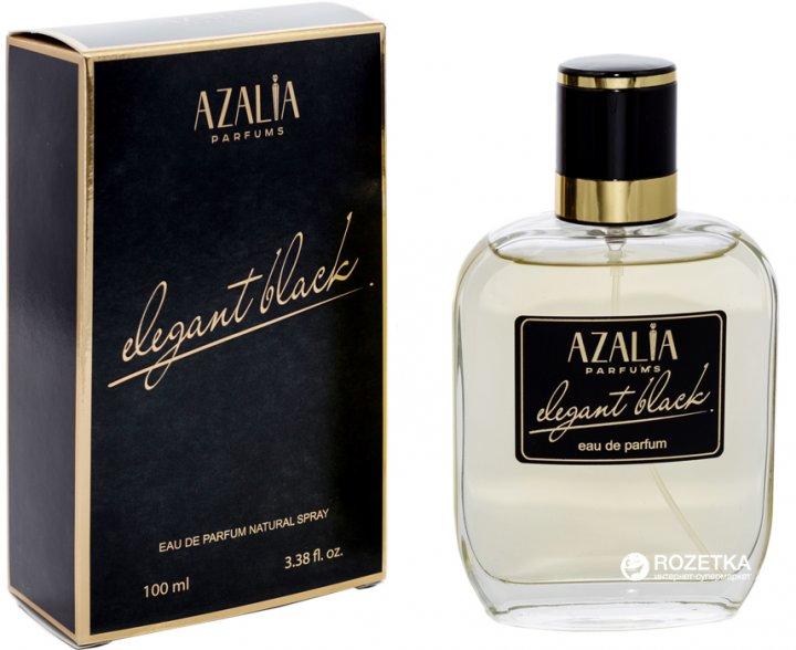 Парфюмированная вода для мужчин Azalia Elegant Black 100 мл (4810353004916) - изображение 1