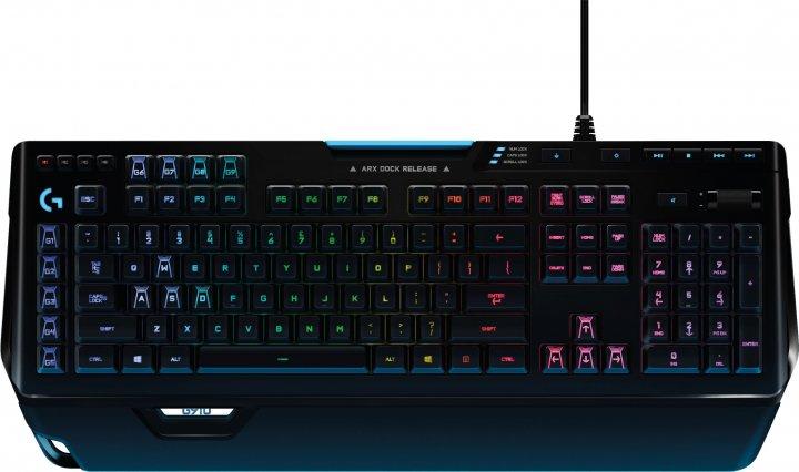 Клавиатура проводная Logitech G910 Orion Spectrum USB (920-008019) - изображение 1