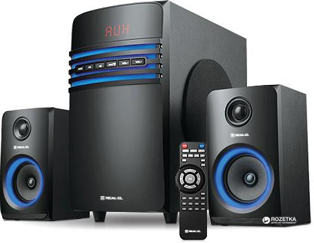 Акустична система Real-El M-550 Black - зображення 1